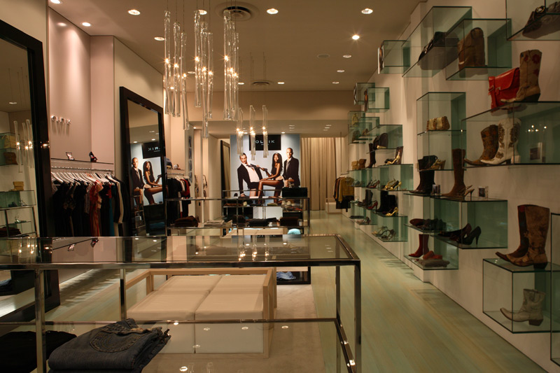 High end clothing stores
