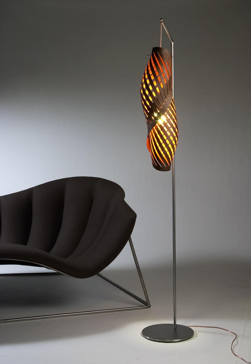 chrysalis pendant light and floor lamp. Black Bedroom Furniture Sets. Home Design Ideas