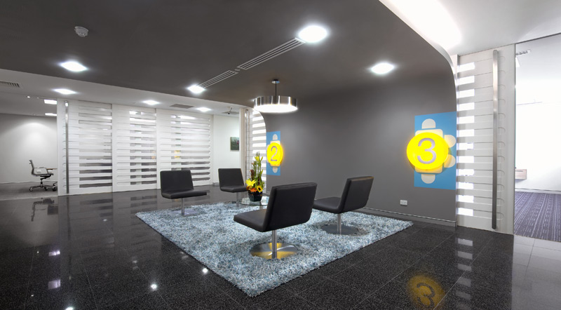 Valentine one office fitout for Home office fitout