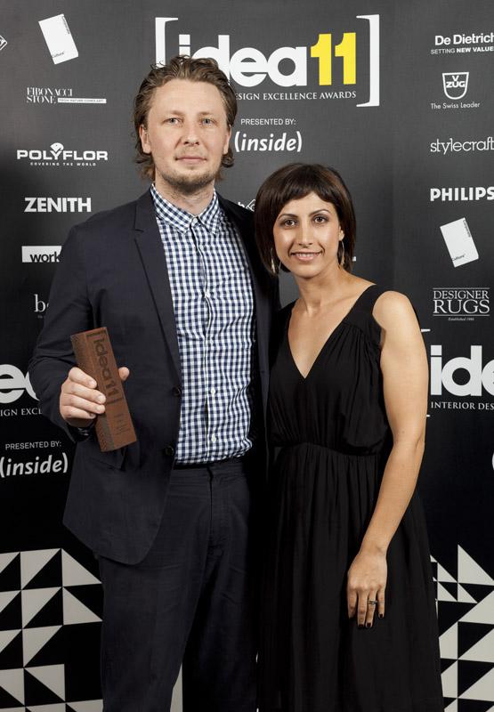 IDEA 2011 hospitality anthony gill