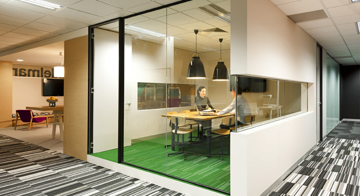Edelman office for Interesting office interiors