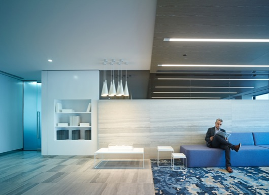 RF Property Fitout by Rothelowman