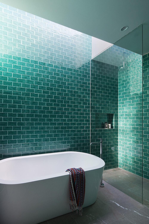 Изумрудная ванна дизайн