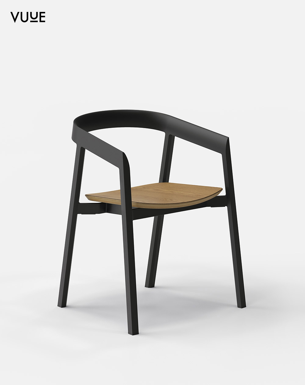 2_vuue_morningtondiningchair_graphitecolournaturaloakveneerseat