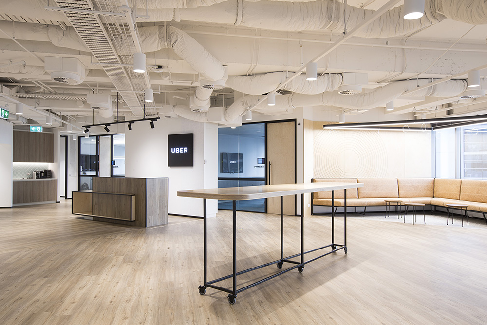 BUILT – UBER offices at 580 George Street 2016