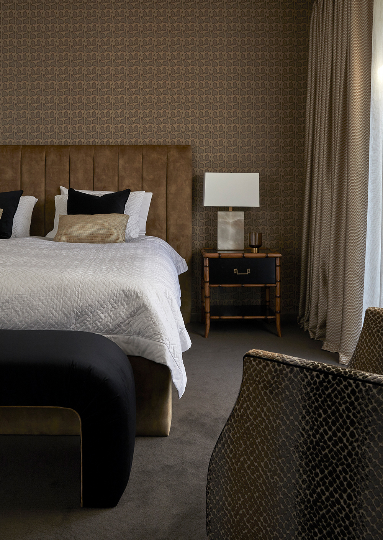 Fiona Jack Interiors Hawthorn House Master bedroom
